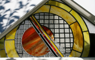 Change your room with modern stained glass – Conservatory Deko Studio London